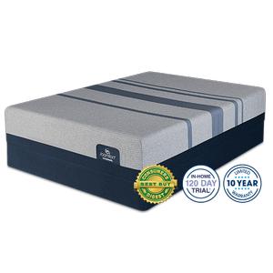 Serta - IComfort Blue Max Touch 3000 Elite Plush