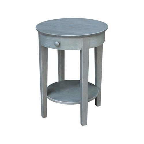 Phillips Heather Grey Accent Table