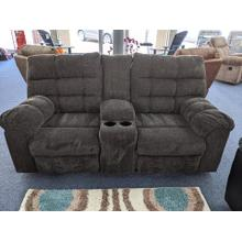 View Product - Previously Rented Reclining Loveseat with Console