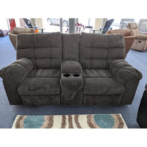 Ashley Furniture - Previously Rented Reclining Loveseat with Console