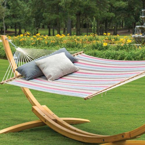 Large Quilted Hammock - Gateway Blush