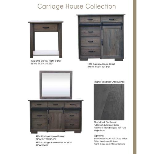 Door County Furniture - Carriage Collection