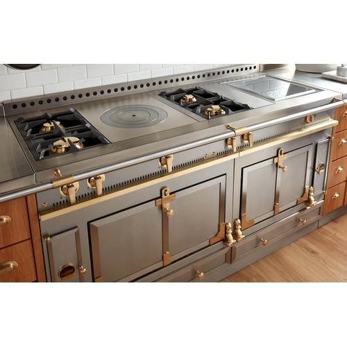 Chateau 150 (KM) - 2-Gas Burners - 1-French Plaque  - 1-Maxi Burner - 2-Induction Burners