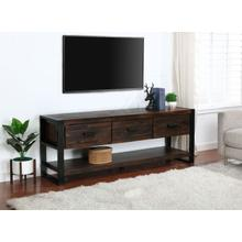 "City Slicker 70""Brown TV Stand"