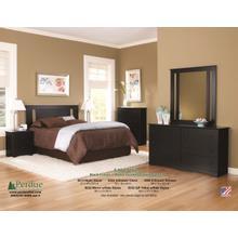 Black Perdue Dresser