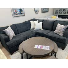 Two Piece Sectional, American Made (Dark)