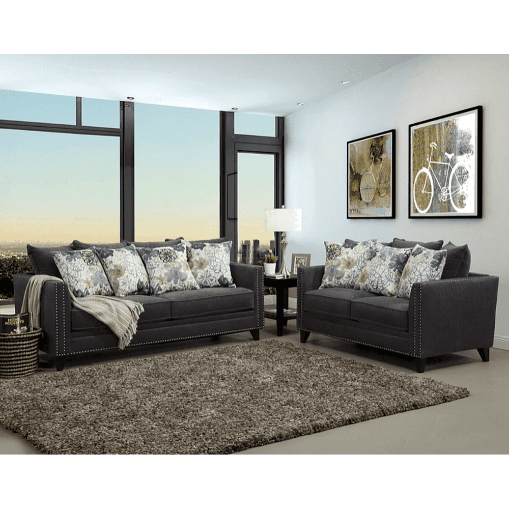 See Details - District Sofa and Love Seat