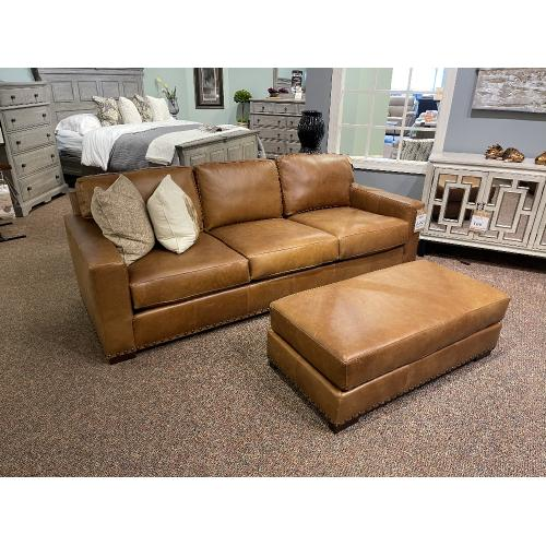 Native By Mayo - Leather Sofa, Chair and a Half & Ottoman -  NAT-8886L10/BECA