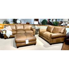 See Details - Madison Italian Leather Sofa & Loveseat