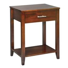 See Details - Contemporary Nightstand 1 Dr