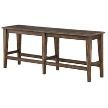 Dark Brown Tall Bench