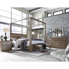 See Details - Corridor Bedroom - Queen Canopy Bed, Dresser, Mirror, Chest & Nightstand