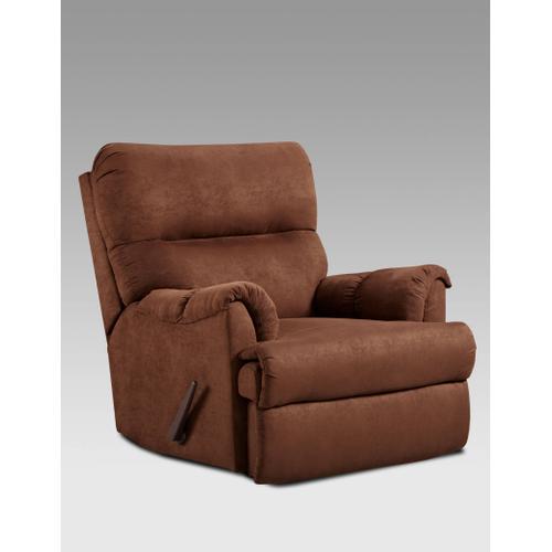 Affordable Furniture - 2155 Aruba Chocolate Recliner