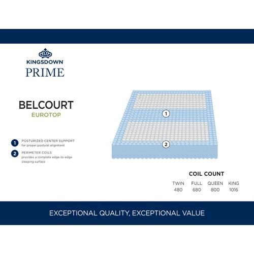 """13.5"""" Belcourt EuroTop"""
