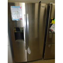 See Details - 30 cu. ft. Side-by-Side Refrigerator with MicroEdge shelves