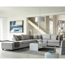 Scott Living Charlotte Transitional Grey Modular Sectional
