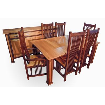 Panel Leg Dining Room Set