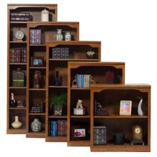 "Oak 36"" Open Bookcase"