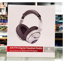 AM/FM Digital Headset Radio