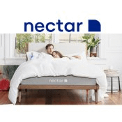 Nectar Premium Gel infused Memory Foam Mattress