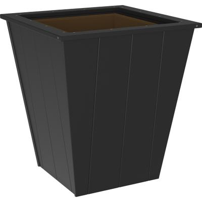 "Elite Planter 26"" Black"