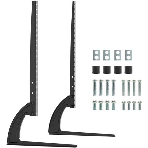 """Universal Height Adjustable Replacement Table Top TV Stand Legs - LED/LCD 27""""-40"""""""