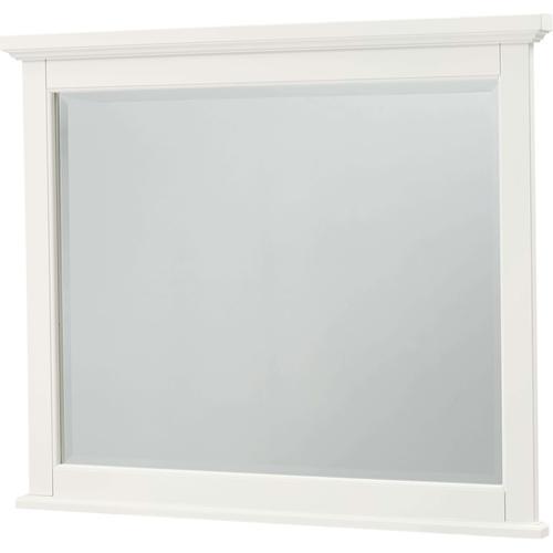 Vaughan-Bassett - White Landscape Mirror