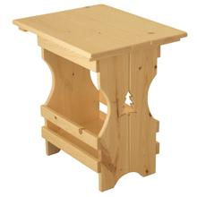 BW589 Magazine End Table with Tree Cutout