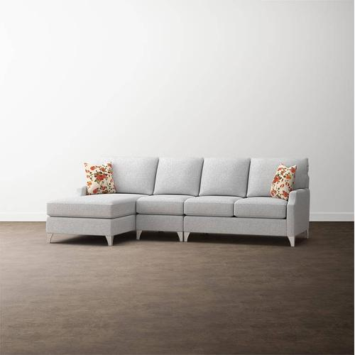 Premier Collection - Custom Upholstery Deep Left Chaise Sectional