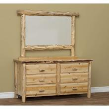 See Details - 6 Drawer Dresser w/ Mirror