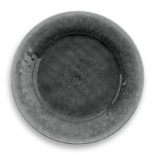 Potters Reactive Dinner Plate Gray Heavy Mold