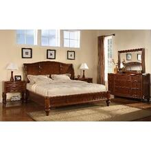 See Details - King Sleigh Bed