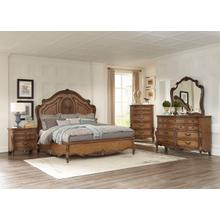 Moorewood Park Qn Bed, Dresser, Mirror and Nightstand