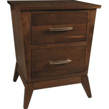 Metro 2-Drawer Nightstand