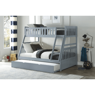 Orion Bunk Bed Twin on Full with Trundle