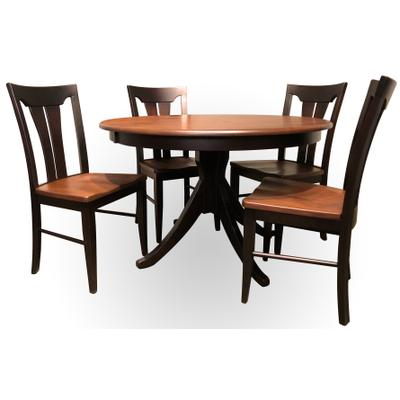 Splay Pedestal Dining Room Set
