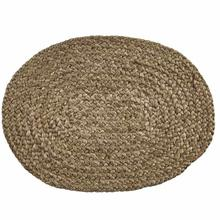 Oval Jute Braided Placemat