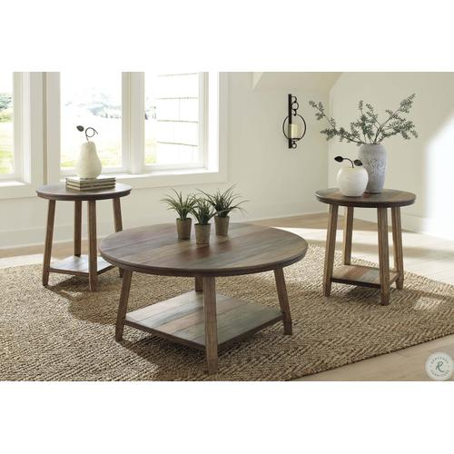 ASHLEY T221-13 Occasional Table Set (3/CN)
