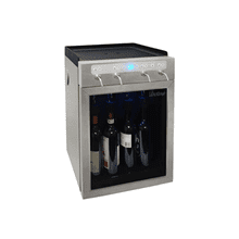 4-Bottle Wine Dispenser- Stainless Steel