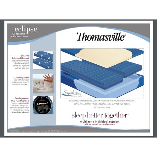 Eclipse 6 chamber queen  Mattress