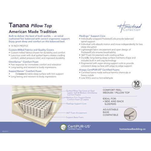 Corsicana - Homestead Collection - Tanana - Medium - Pillow Top