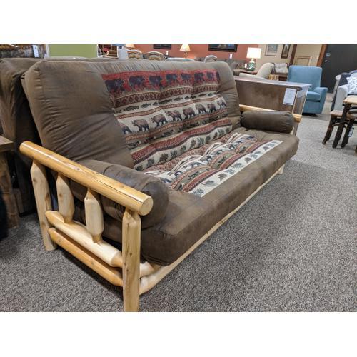 Best Craft Furniture - White Cedar Queen Size EZ Bed Futon (Pick Your Fabric!)