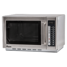 AMANA 1000w Commercial Glass-Door Microwave Oven