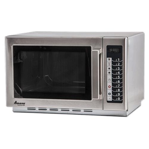 AMANA 1000w Commercial Glass-Door Microwave Oven