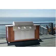 "42"" Rockwell by Caliber Social Grill Built-In natural gas"