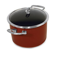 Copper Fusion Covered Stockpot (8 Qt.)