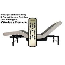 Adjustable Queen Base w/Massage