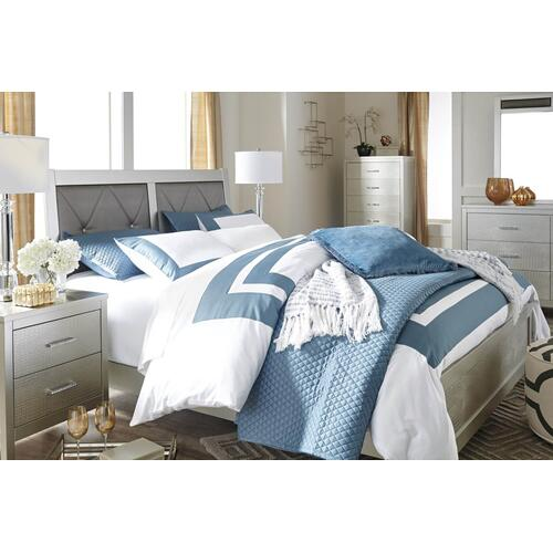 Packages - Olivette Queen Bed Dresser Mirror