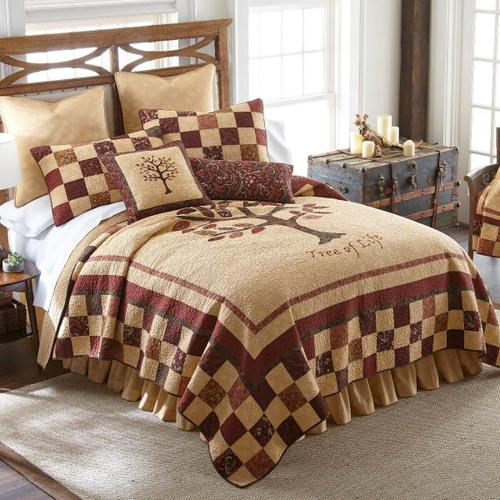 Autumn Tree of Life King Quilt Set