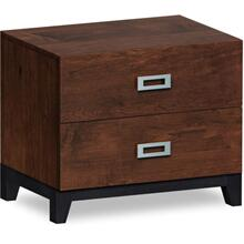 American Modern 2 Drawer Nightstand